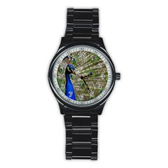 Peacock Sport Metal Watch (black)