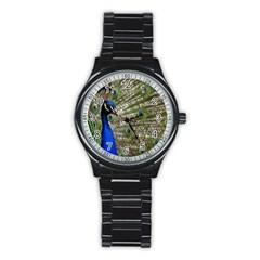 Peacock Sport Metal Watch (black)