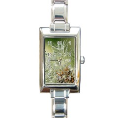 Dandelion Rectangular Italian Charm Watch