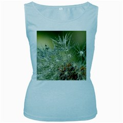 Dandelion Womens  Tank Top (Baby Blue)