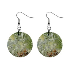 Dandelion Mini Button Earrings