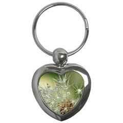 Dandelion Key Chain (Heart)