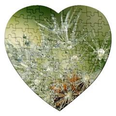 Dandelion Jigsaw Puzzle (Heart)