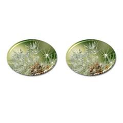Dandelion Cufflinks (Oval)