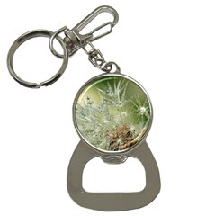 Dandelion Bottle Opener Key Chain