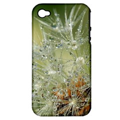 Dandelion Apple iPhone 4/4S Hardshell Case (PC+Silicone)