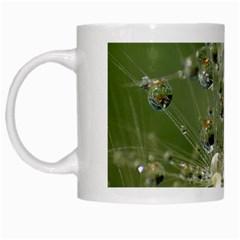 Dandelion White Coffee Mug