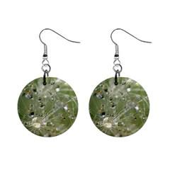 Dandelion Mini Button Earrings