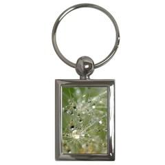 Dandelion Key Chain (rectangle)