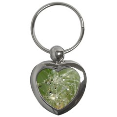 Dandelion Key Chain (Heart)