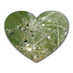 Dandelion Mouse Pad (Heart)
