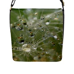 Dandelion Flap Closure Messenger Bag (Large)