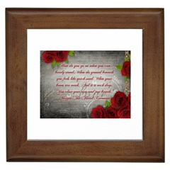 Maggie s Quote Framed Ceramic Tile