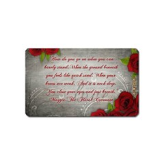 Maggie s Quote Magnet (Name Card)