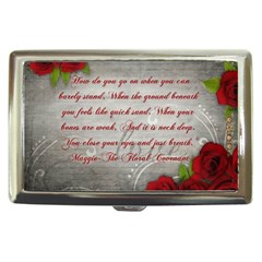 Maggie s Quote Cigarette Money Case