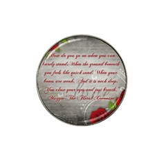 Maggie s Quote Golf Ball Marker (for Hat Clip)