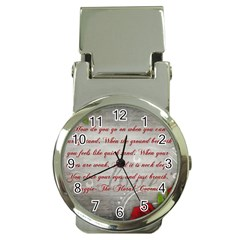 Maggie s Quote Money Clip with Watch