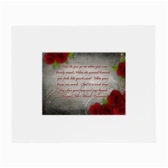 Maggie s Quote Glasses Cloth (Small, Two Sided)