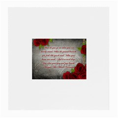 Maggie s Quote Glasses Cloth (Medium, Two Sided)