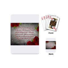 Maggie s Quote Playing Cards (Mini)