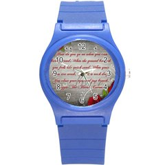 Maggie s Quote Plastic Sport Watch (Small)