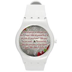 Maggie s Quote Plastic Sport Watch (medium)