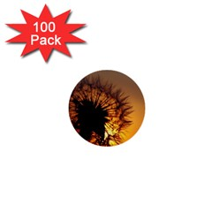 Dandelion 1  Mini Button (100 Pack)