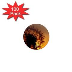 Dandelion 1  Mini Button Magnet (100 pack)
