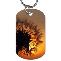 Dandelion Dog Tag (One Sided)