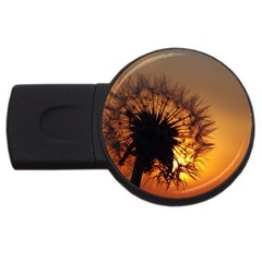 Dandelion 2gb Usb Flash Drive (round)