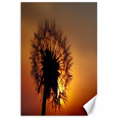 Dandelion Canvas 24  x 36  (Unframed)