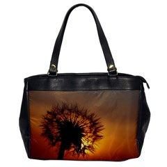 Dandelion Oversize Office Handbag (One Side)