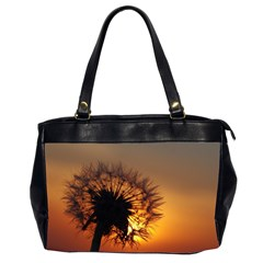 Dandelion Oversize Office Handbag (Two Sides)