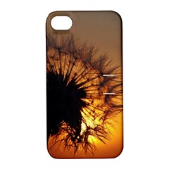 Dandelion Apple iPhone 4/4S Hardshell Case with Stand