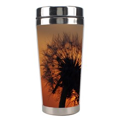 Dandelion Stainless Steel Travel Tumbler