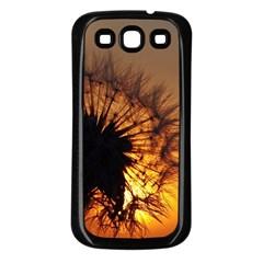 Dandelion Samsung Galaxy S3 Back Case (Black)