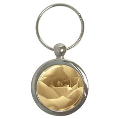 Rose  Key Chain (Round)