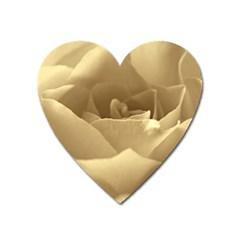 Rose  Magnet (heart)