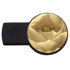 Rose  1GB USB Flash Drive (Round)