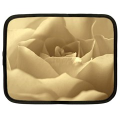 Rose  Netbook Case (Large)
