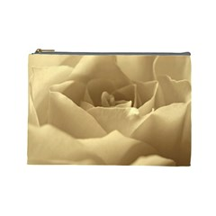 Rose  Cosmetic Bag (Large)