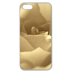 Rose  Apple Seamless iPhone 5 Case (Clear)