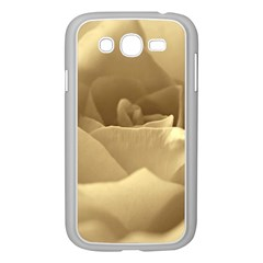 Rose  Samsung Galaxy Grand DUOS I9082 Case (White)