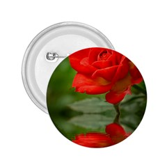 Rose 2 25  Button