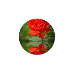 Rose Golf Ball Marker 10 Pack