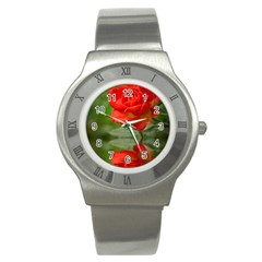 Rose Stainless Steel Watch (Unisex)