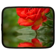 Rose Netbook Case (Large)