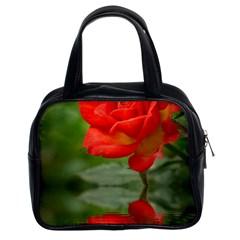 Rose Classic Handbag (Two Sides)