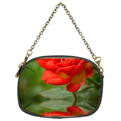 Rose Chain Purse (two Sided)