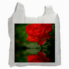 Rose Recycle Bag (One Side)